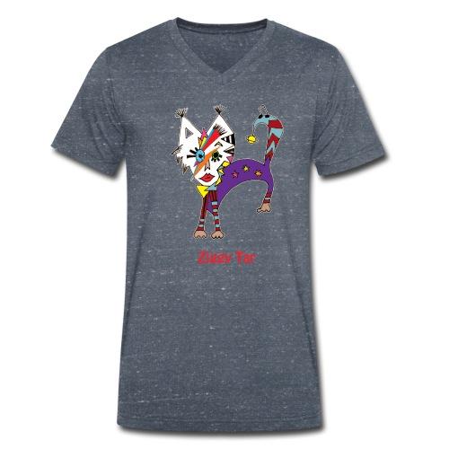 T-shirt col V Homme - Ziggy Tar - T-shirt bio col V Stanley & Stella Homme