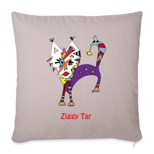 Housse déco 44x44 - Ziggy Tar - Housse de coussin décorative 44x 44cm
