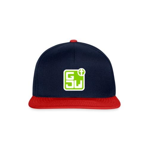 GJW Cap 2-farbig mit Logo - Snapback Cap