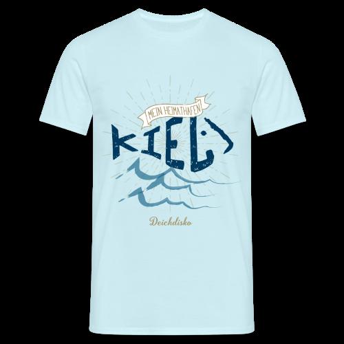 Deichdisko Herren-Premium-T-Shirt Heimathafen Kiel - Männer T-Shirt
