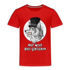 Half Wolf Half Gentleman - Kids' Premium T-Shirt - Koszulka dziecięca Premium