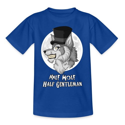 Half Wolf Half Gentleman - Kids' T-Shirt - Koszulka dziecięca