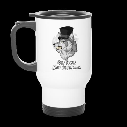 Half Wolf Half Gentleman - Thermal Mug, ver. 2 - Travel Mug