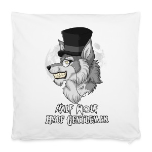 Half Wolf Half Gentleman - 40x40 cm Pillowcase - Poszewka na poduszkę 40 x 40 cm