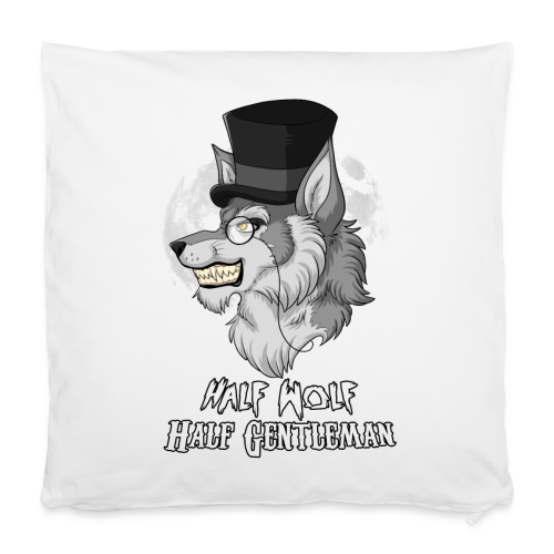 Half Wolf Half Gentleman - 40x40 cm Pillowcase - Pillowcase 40 x 40 cm