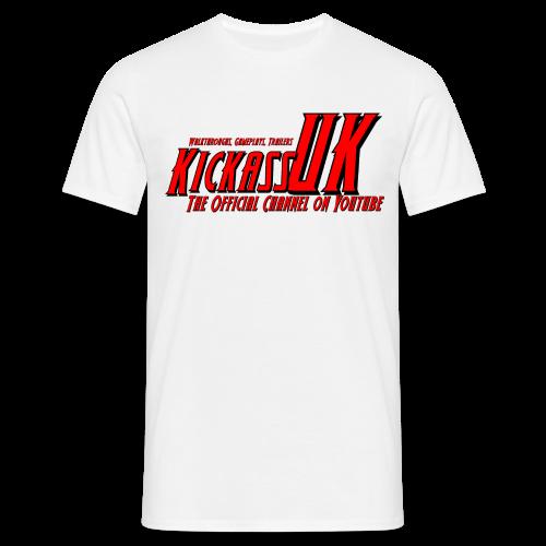 Mens KickassUK Main Logo T-Shirt - Men's T-Shirt