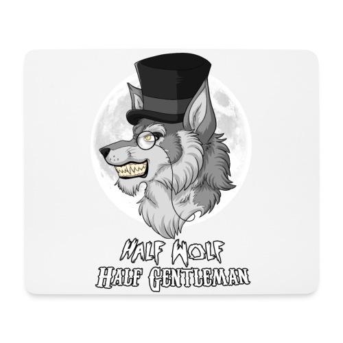Half Wolf Half Gentleman - Horizontal Mousepad - Podkładka pod myszkę (orientacja pozioma)