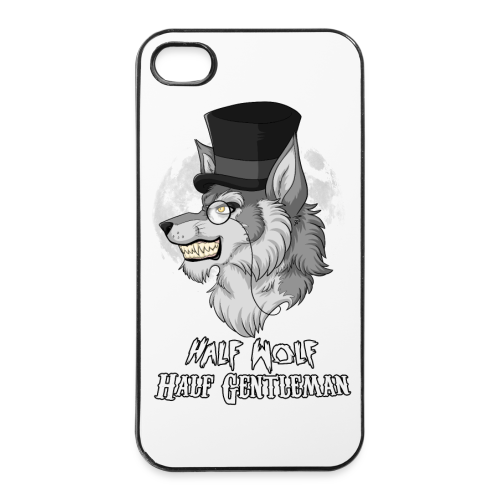 Half Wolf Half Gentleman - iPhone 4/4s Hard Case - iPhone 4/4s Hard Case