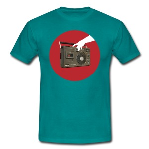 Press My Hungry Button Men's Tee - Men's T-Shirt