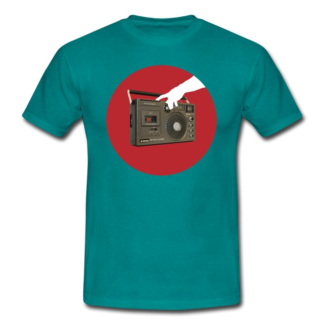 Press My Hungry Button Men's Tee