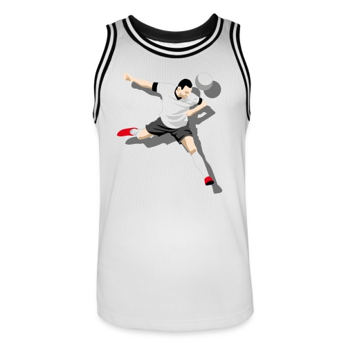 Tank Top Kick it! - Männer Basketball-Trikot