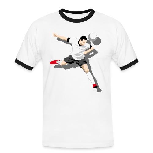 Herren T-Shirt Kick it! - Männer Kontrast-T-Shirt
