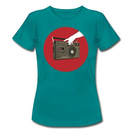 Press My Hungry Button Women's Tee - Women's T-Shirt