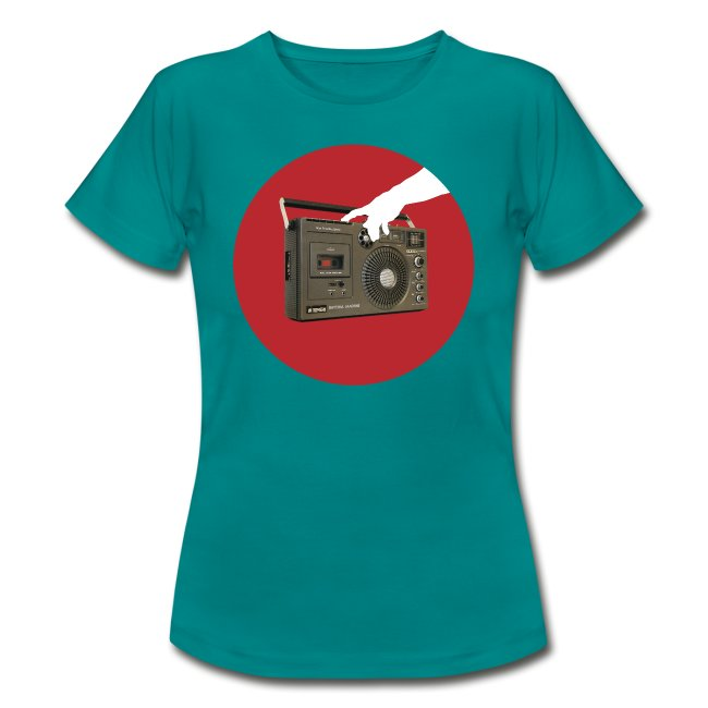 Press My Hungry Button Women's Tee