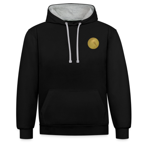 Trumpoi Limited Edition Gold Hoodie - Contrast Colour Hoodie