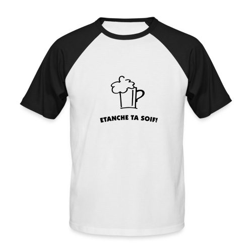 T-Shirt Shop de Biére - T-shirt baseball manches courtes Homme