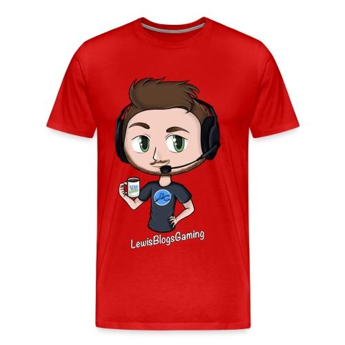 Men's Premium T-Shirt: Avatar LewisBlogsGaming - Men's Premium T-Shirt