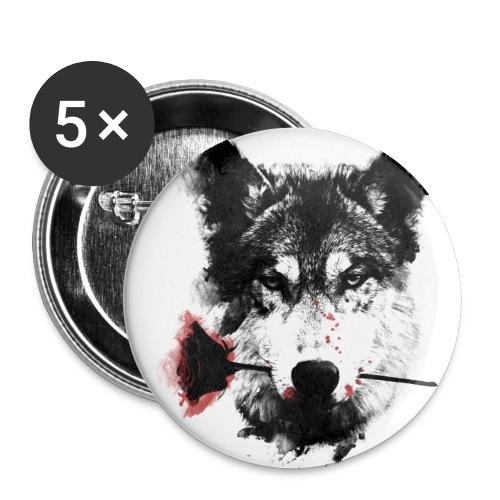 Badge Chien - Badge moyen 32 mm