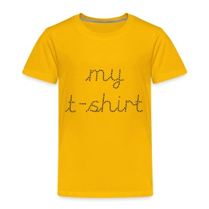 My t-shirt yellow - Kids' Premium T-Shirt
