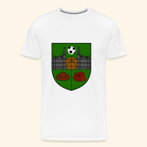 SV Wieckenberg Fußball (Wappen, farbig) - Männer Premium T-Shirt