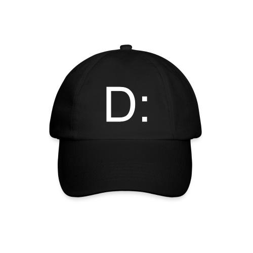 D: Baseballkappe Schwarz - Baseballkappe