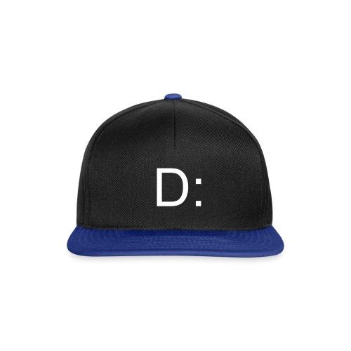 D: Snapback Schwarz-Blau - Snapback Cap