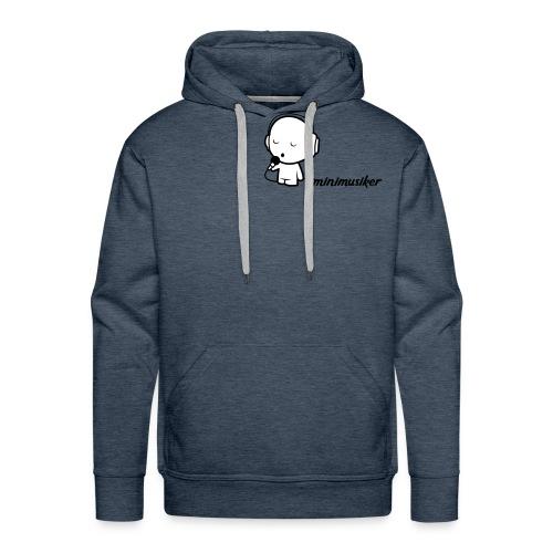 Minimusiker Pullover - Männer Premium Hoodie