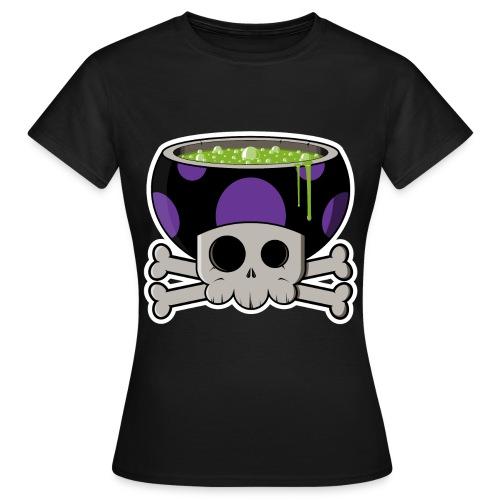 Le vrai visage des champi ! - T-shirt Femme