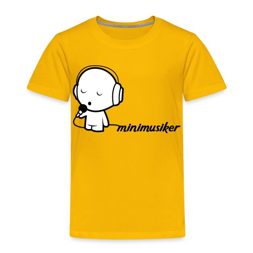 Minimusiker T-Shirt (Kids) - Kinder Premium T-Shirt