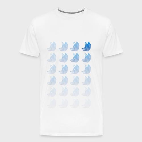 RocketFox Gradient T-Shirt - Men's Premium T-Shirt