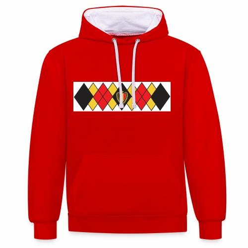 Vintage 84 hoodies  - Contrast Colour Hoodie