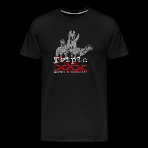 Triple x-herder und mechelaar - Männer Premium T-Shirt