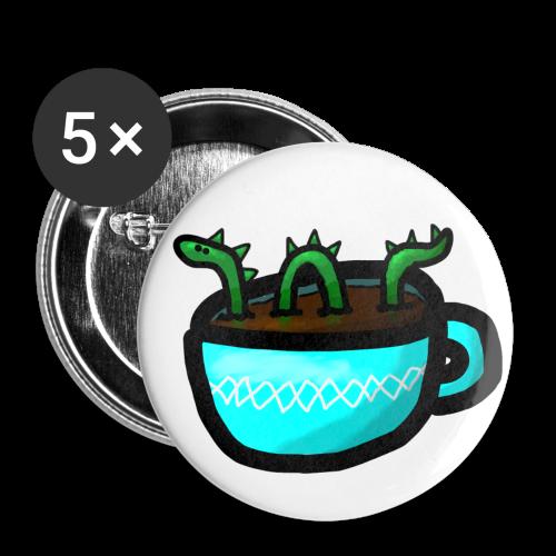 Button - Loch Ness - Buttons mittel 32 mm
