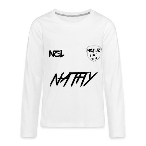 Teenager's Pitch FC Shirt - Teenagers' Premium Longsleeve Shirt