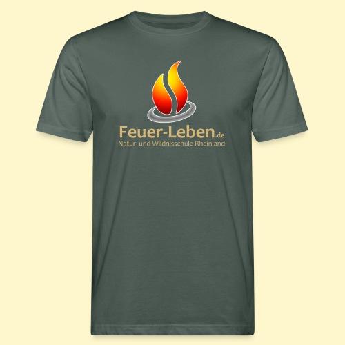 Support vorne/hinten - Männer Bio-T-Shirt
