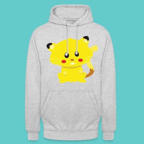 Tshirt Pikachu - Sweat-shirt à capuche unisexe