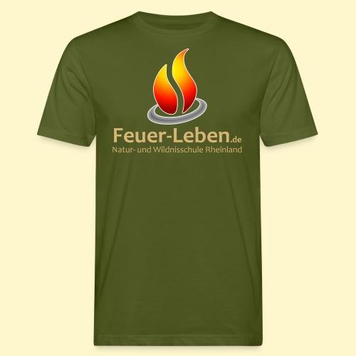 Support vorne - Männer Bio-T-Shirt