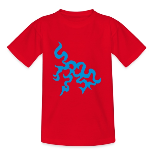 Kids Red T-shirt - Teenage T-Shirt