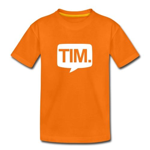 TIM. T-Shirt (KIDS) - Kinderen Premium T-shirt