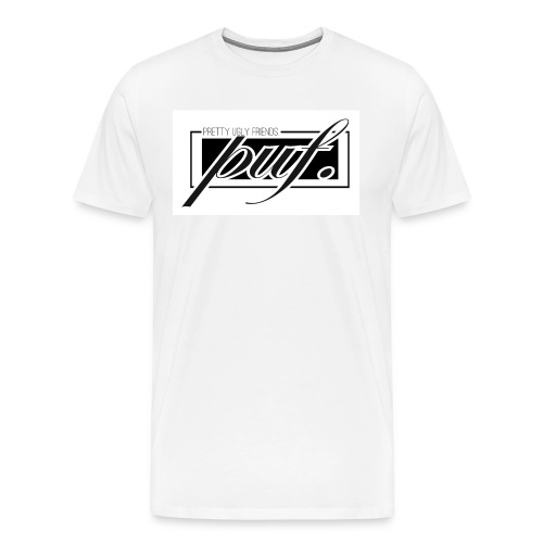 PUF. White - Men's Premium T-Shirt