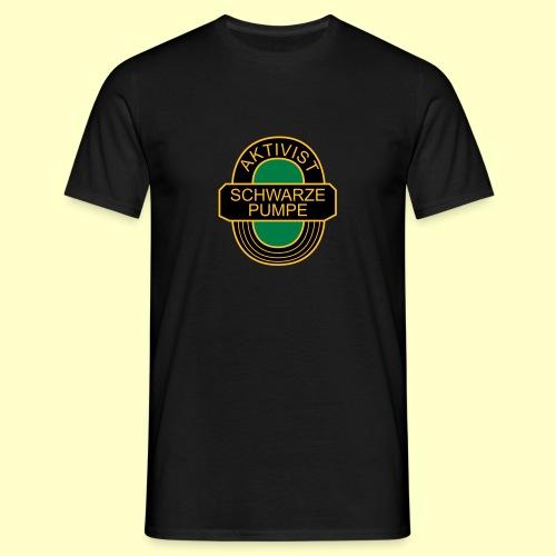 Fan-T-Shirt Aktivist Schwarze Pumpe - Männer T-Shirt