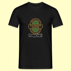 Fan-T-Shirt Pumpe lebt - Männer T-Shirt