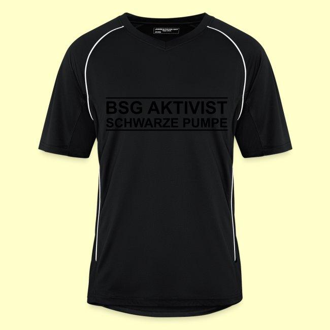 Fan-Trikot BSG Aktivist Schwarze Pumpe mit eigenem Namen/Rückennummer