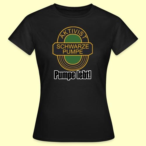 Fan-T-Shirt Pumpe lebt für Frauen - Frauen T-Shirt