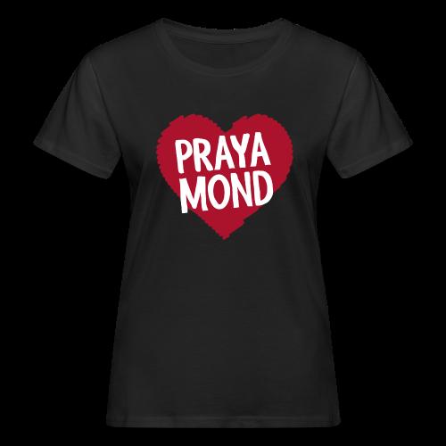 T-Shirt Damen, schwarz (Eco) - Frauen Bio-T-Shirt