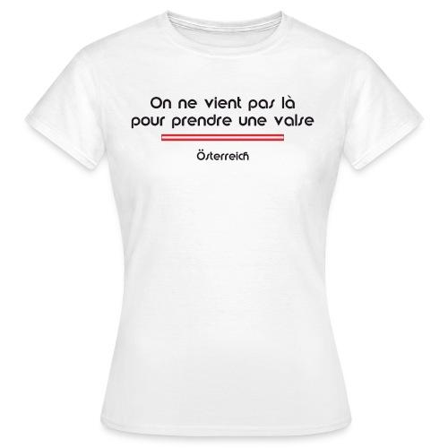 Autriche femme - T-shirt Femme