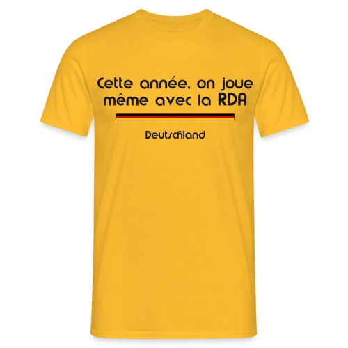 Allemagne homme - T-shirt Homme