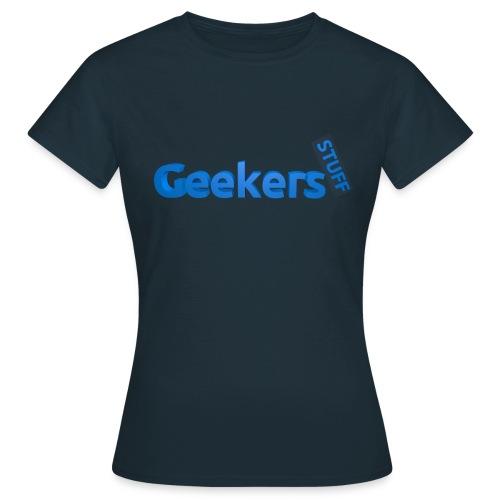 Geekers Stuff Logo Shirt - Women - Women's T-Shirt