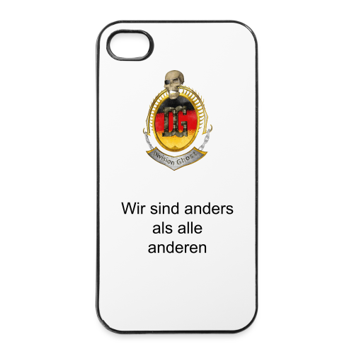 iPhone 4/4s  Hard Case Division Ghost - iPhone 4/4s Hard Case
