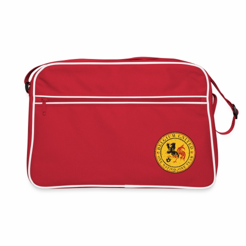 Retro Bag - Go Belgium ! Euro 2016 is coming and it's time for you, supporter, to get the perfect equipment to support our Belgium Red Devils during their (long) journey in France...So let's dress in Belgium colors to show them the Belgium United Power